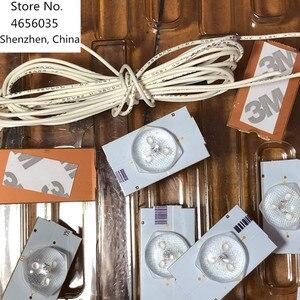 Image 3 - 100 ชิ้น/ล็อต 100% ใหม่ Highlight และคุณภาพดี 3V SMD โคมไฟลูกปัด Optical เลนส์กรองสำหรับ 32  65 นิ้ว LED TV ซ่อม