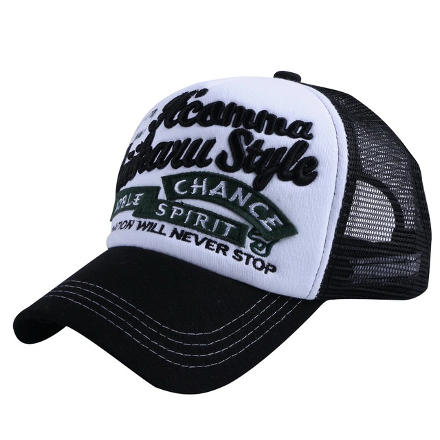 2bcc76a7f21 cheap wholesale women men summer baseball cap custom design mesh style cool  girl boy fashion snapback