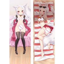 Anime Sewayaki Kitsune no Senko Pillow Cover Dakimakura Case Sexy Girl 3D Double Side Printing Bedding Hugging Body Pillowcase