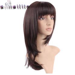 Парики из искусственных волос без шапочки-основы короткий кудрявые черный парик из натуральных волос Карнавальные парики