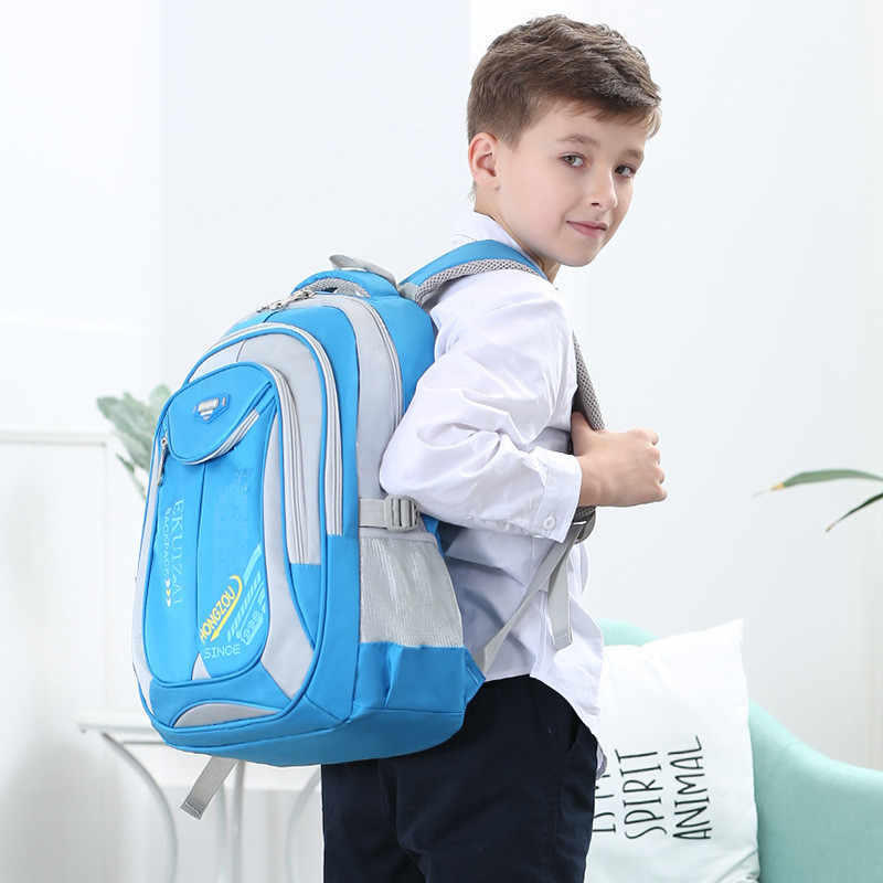 Dei Bambini di modo Borse da Scuola per I Ragazzi Della Ragazza Zaini Impermeabili Per Gli Adolescenti di Grande Capacità Zaino 2 dimensioni Mochila Infantil