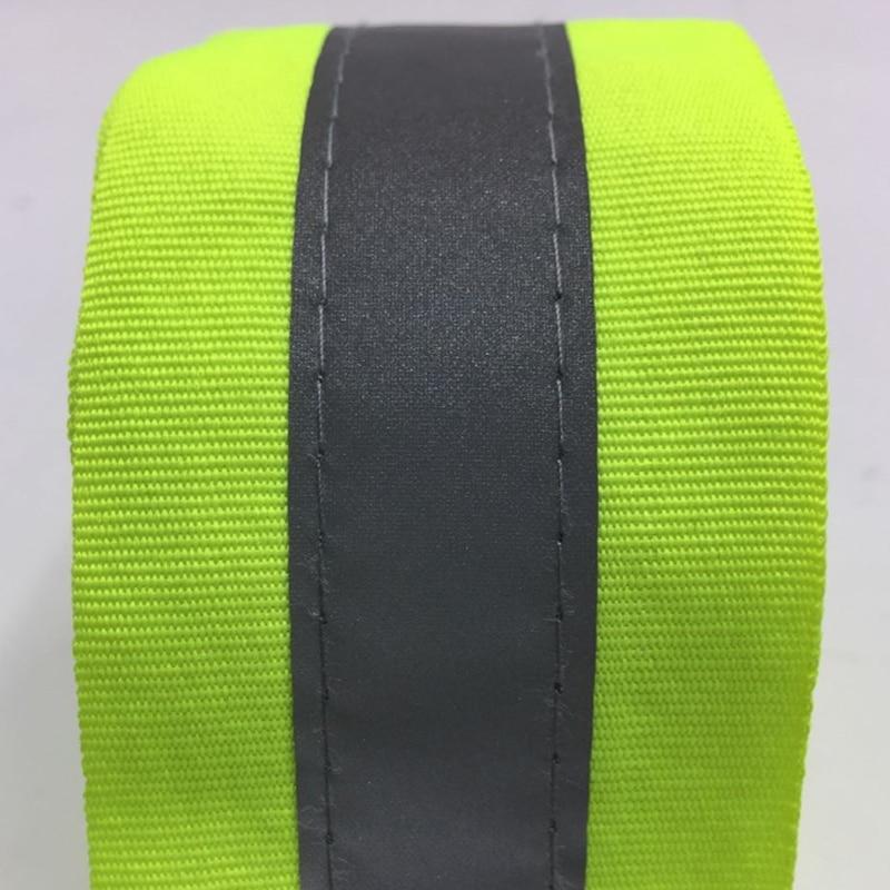 50 mm szélességű fluoreszkáló sárga és fluoreszkáló - Biztonság és védelem - Fénykép 2