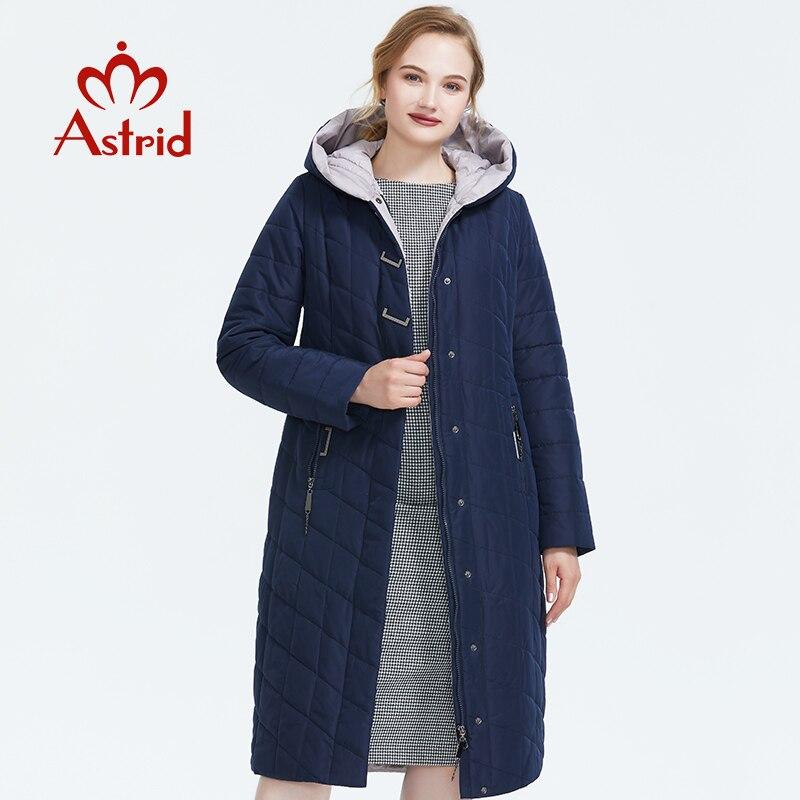 ICEbear 2019 новая зимняя куртка с капюшоном женское пальто мода женская одежда ветрозащитный теплая зимняя женская парки одежда больших размер... - 2