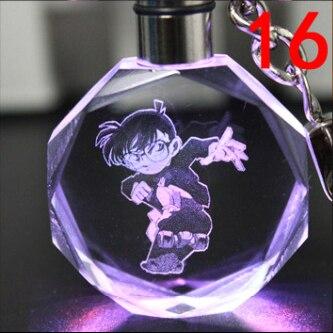 Аниме брелок светодиодный кристалл Детектив Конан в ассортименте 4