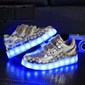 Children Shoes LED Lighted Kids Sneakers Fashion Luminous LED shoes Boys girls Sneaker Casual led child sport shoes tx0299
