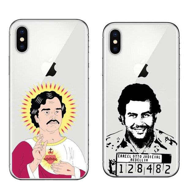 coque iphone 8 pablo escobar