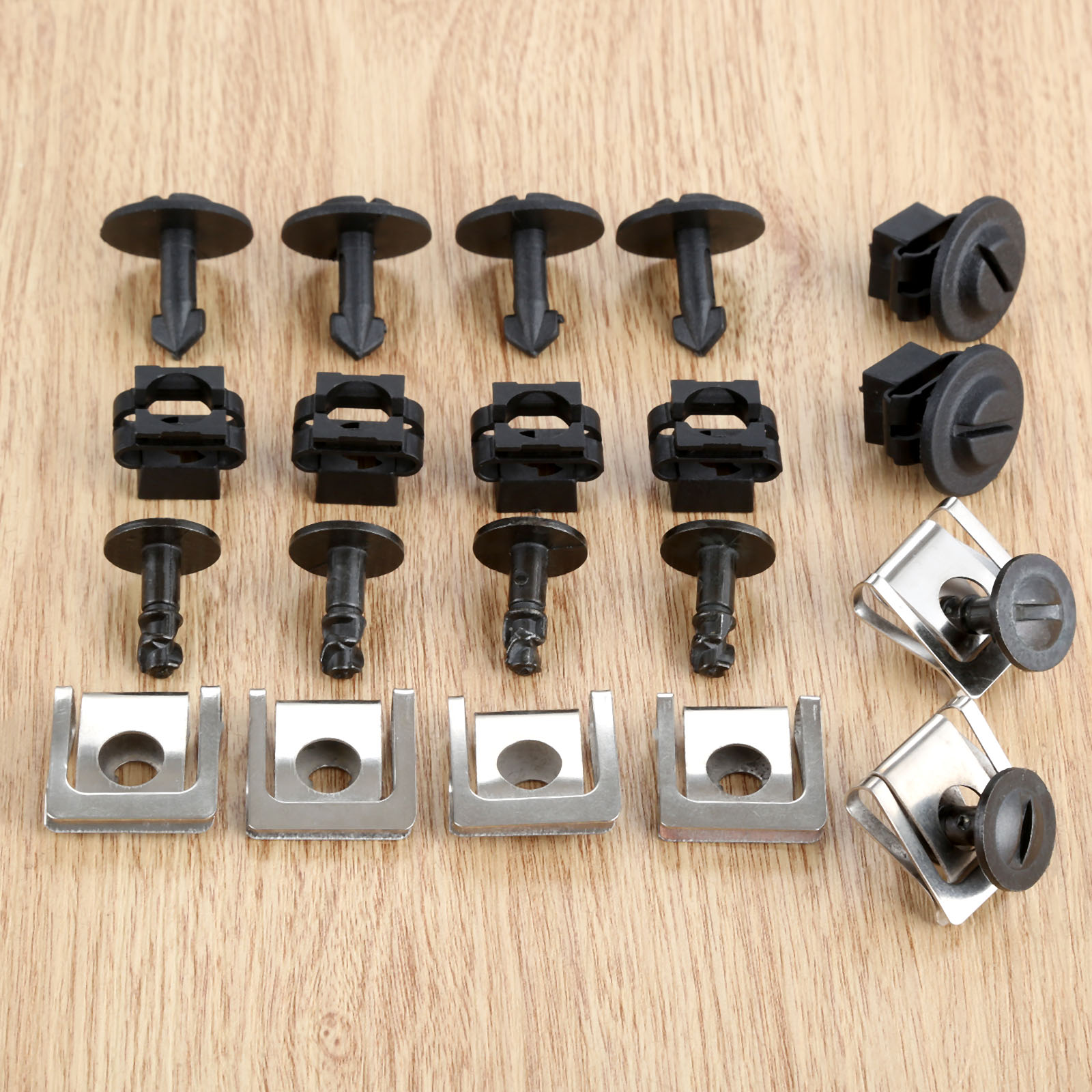 10x UNDER ENGINE /& GEARBOX UNDERTRAY COVER CLIPS FASTENERS For AUDI BMW