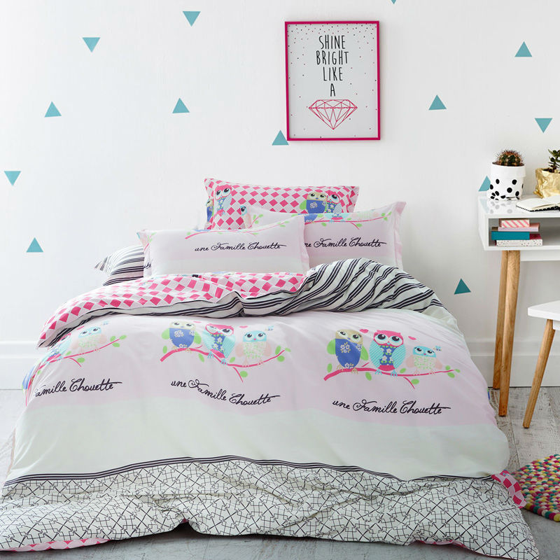owl buhos bed gouchee pdp set duvet cover home bath