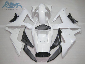 Upgrade your motorcycle fairing Kits fit for YAMAHA 2002 2003 YZFR1 02 03 YZF R1 sports fairings white black body parts RG21