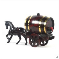 XXXG 3L/5L liters barrels of oak barrels / red wine / gift / oak barrels / carriage carriage horse cars. 1500ML/500ML/ wine Cask