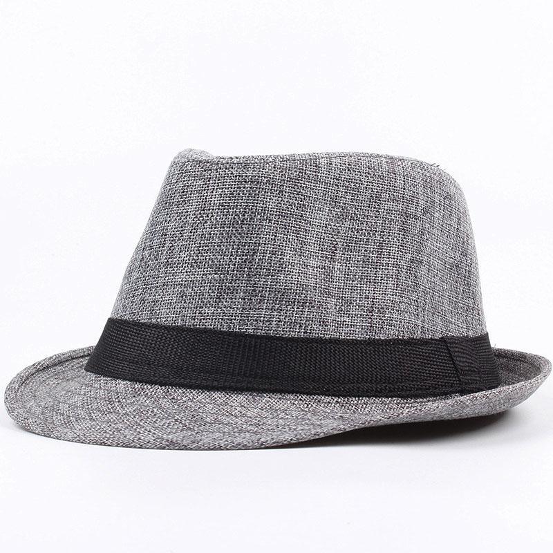 Sun Hats for Women Men Unisex Fashion Summer Spring British Style Straw Hat Braided Casual Beach Hat chapeau femme