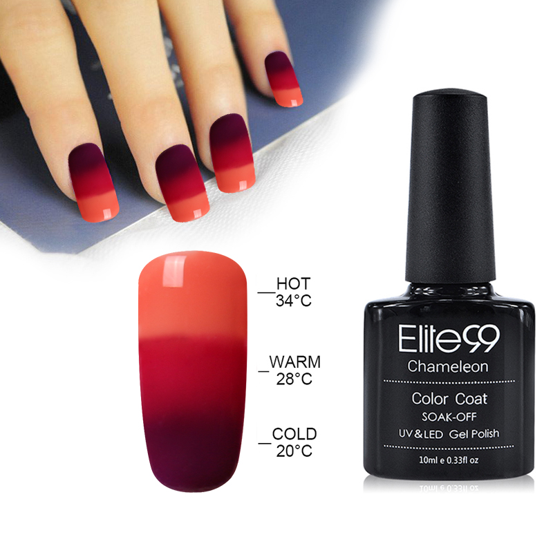 Elite99 Temperature Change Nail Gel Polish Thermal Change Cold 3 ...