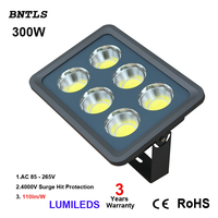 6 COB Led Chips 300W Led Flood Light Cool White Outdoor Landscape Advertising Lamp Waterproof IP66 85 265V