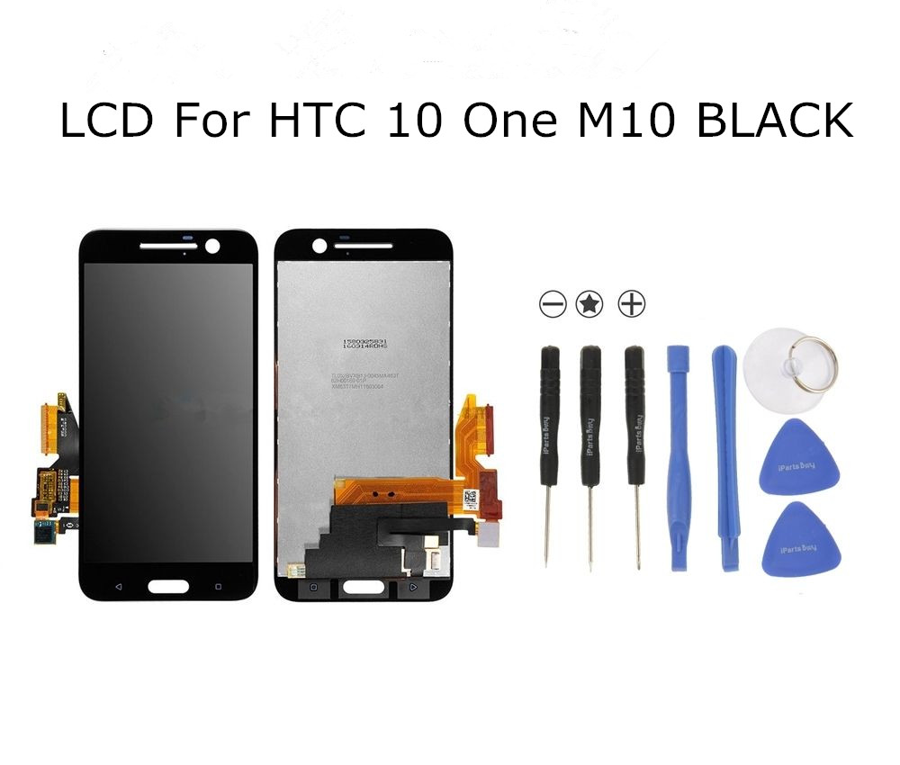 High Quality  LCD Display Touch Screen Digitizer Assembly For HTC 10 One M10 Replacement Parts high quality lcd display touch screen