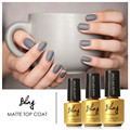 FOCALLURE Matte Surface Magic Top Coat Nail Gel Polish LED UV Soak off 6ml Clear Color Matt Top Coat Nail Art