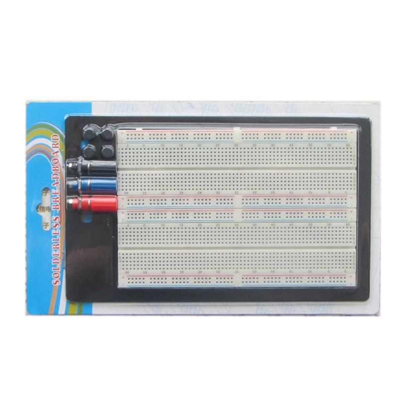 1pcs,SYB-46 270 Tie-point Solderless PCB Prototype Protoboard Breadboard,