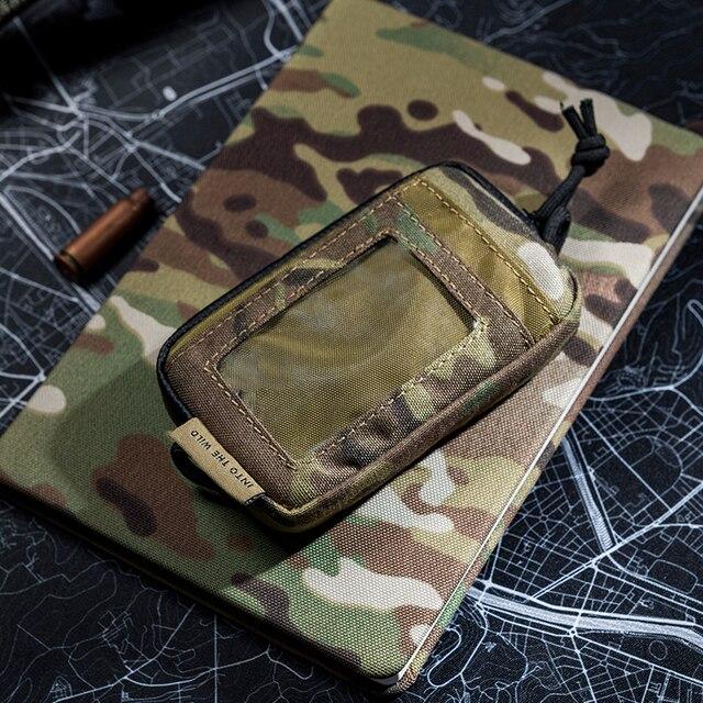 OneTigris тактический крутой EDC чехол Портативный кошелек для мелочи кошелек для путешествий Набор для монет мини-кошелек и отделения для карт и непромокаемые застежки-молнии
