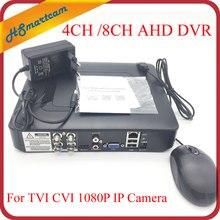 New mini DVR 4CH / 8CH AHD 1080N 960H XMeye P2P APP Coaxial 5 in 1 Hybrid Coaxial 1080P AHD TVI CVI Cameras DVR CCTV Systems