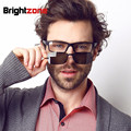 TR90 Prescription eyeglasses frames men eye glasses women computer eyewear nerd eye wear optical rx spectacl magnet clip shade
