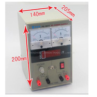 Freeship By DHL 220V BEST 1501T 15V 1A Regulated DC Power Supply Mobilephone Repair Test Equipment