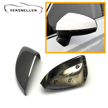 polyurethane protective chromium black styling ABS rearview mirror case cover oem fitmen replacing Audi A3 S3 8V 2014 up