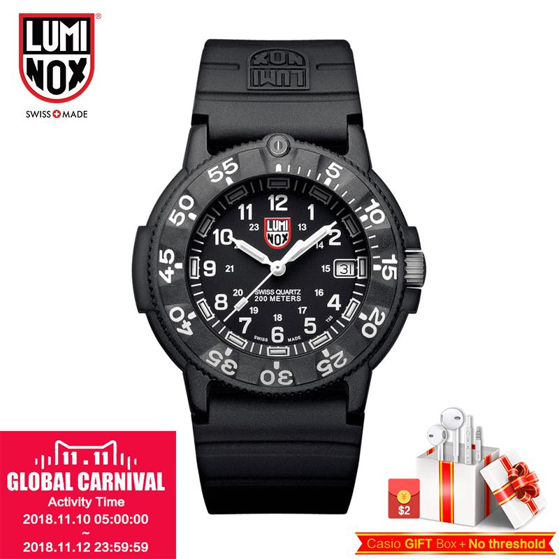 Luminox Watch Made in Switzerland The men's diving marine series seals A.3001 XS.3001 A.3001.BOXS.3001.BO A.3003 XS.3003