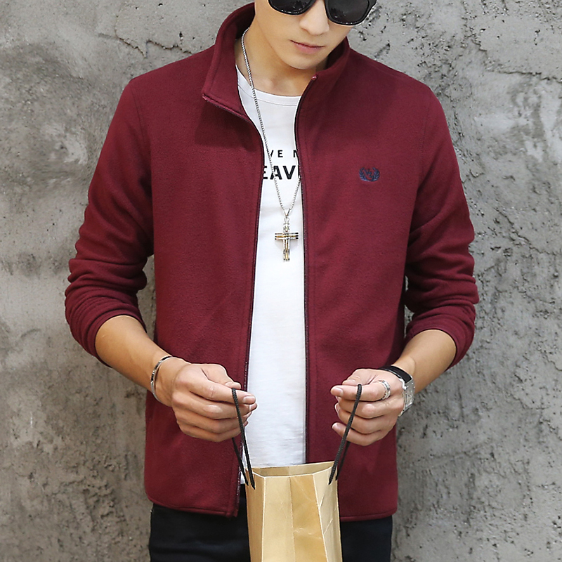 Brand Clothing Jacket Men Fashion Mens Spring Jacket Casual Slim Fit Outerwear Fleece Men's Jackets and Coats Jaqueta Masculina