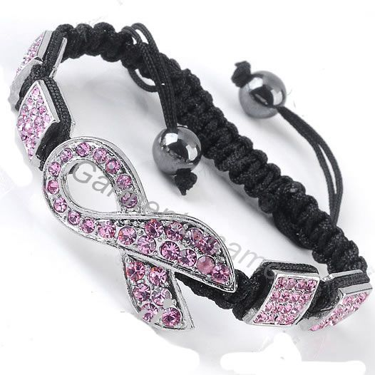 Buy shamballa bracelet pink and get free shipping on AliExpress.com dc9afd61c827