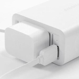 Image 2 - Youpin smartmi 100 w carregador de carro portátil inversor conversor dc 12 v para ac 220 v com 5 v/2.4a portas usb potência do carro com soquete