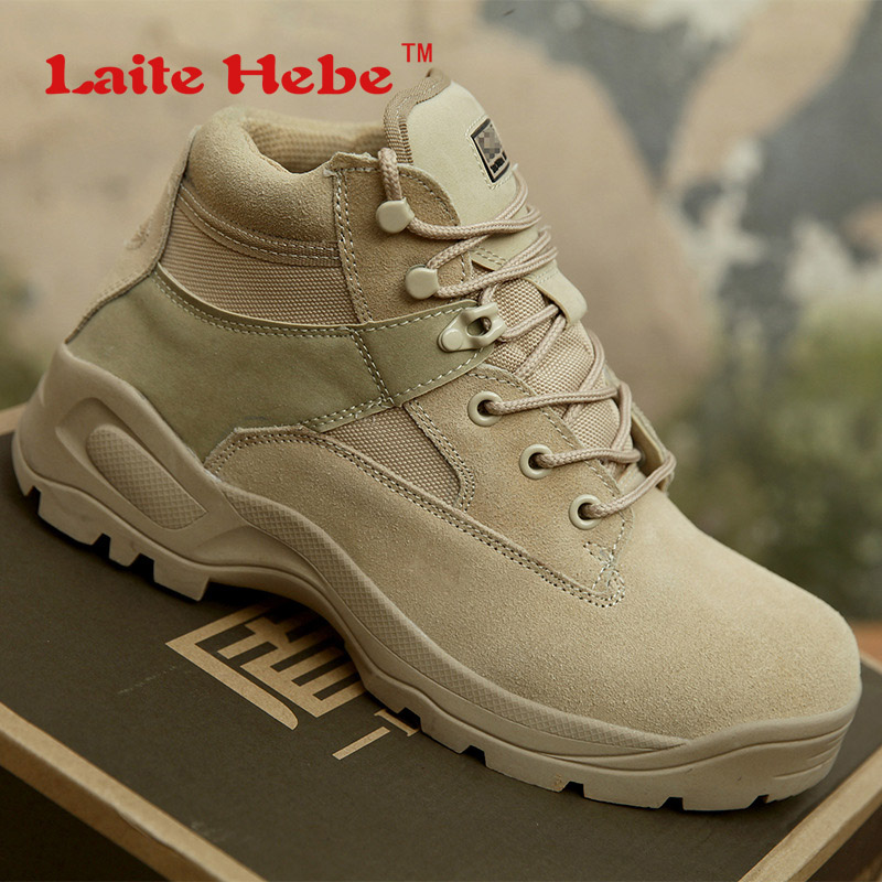 Laite Hebe Delta Tactical Men Boots Combat Winter Desert American SWAT Anti-Collision Shoes Mens Military Boots Hiking Size39-45 2017 military combat desert boot mens army tactical boots military boots spring autumn climbing hiking shoes