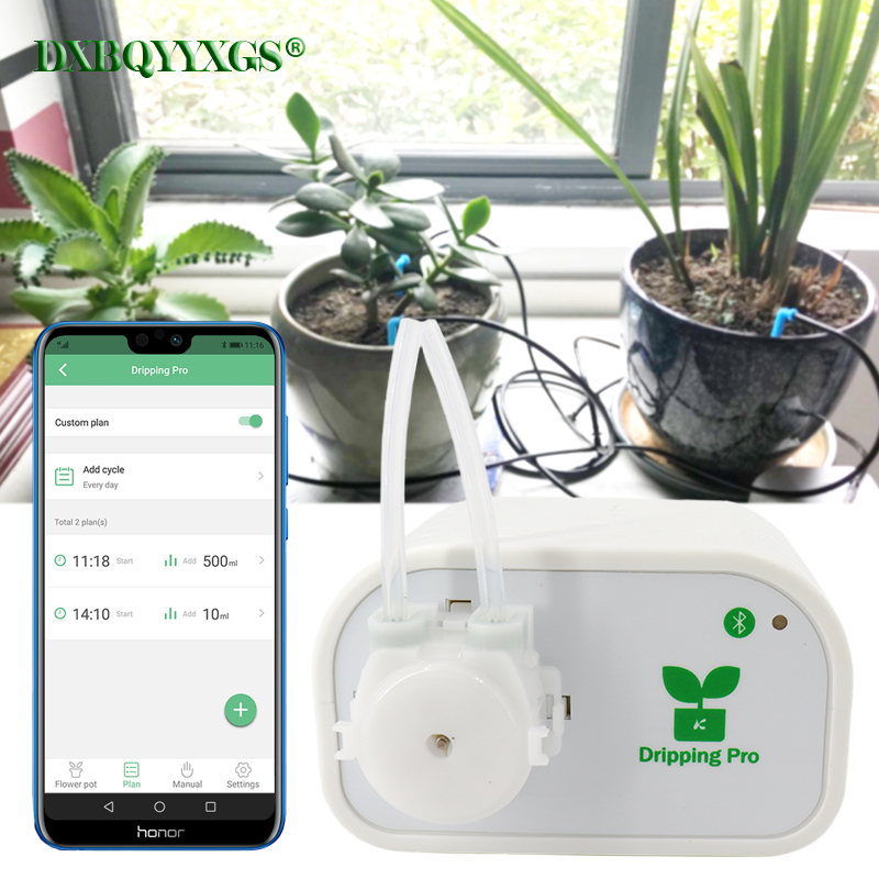 DXBQYYXGS Dripping pro Mobile phone control Garden plant utomatic Drip Irrigation watering system Intelligent water timer