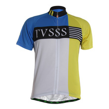 TVSSS Men's Summer Cycling Jersey Short Sleeve Go Pro Bicycle Wear Clothing Youthful Breathable Simple Design Ropa Ciclismo