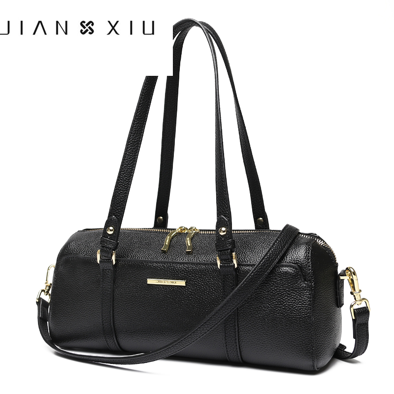 2018 Women Genuine Leather Handbags Famous Brands Handbag Messenger Shoulder Bag Tote Sac a Main Bolsos Mujer Vintage Small Bag 6color women genuine leather handbags famous brand handbag messenger small bags cow leather shoulder bag fashion tote sac a main
