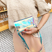 Transparent Beach waist bag Women Messenger Cute Waterproof Crossbody Bag banana Chest Bag saszetka na biodra Dropshipping #ZC(China)