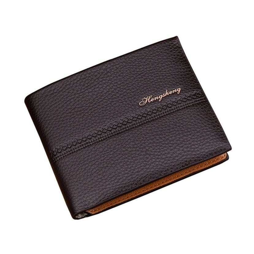 Hot Sale Men PU Leather Short Purse Wallet Retro Design Men Credit Card Holder Business Folding Purses Money Cash Organizer fitnes leader 120x200