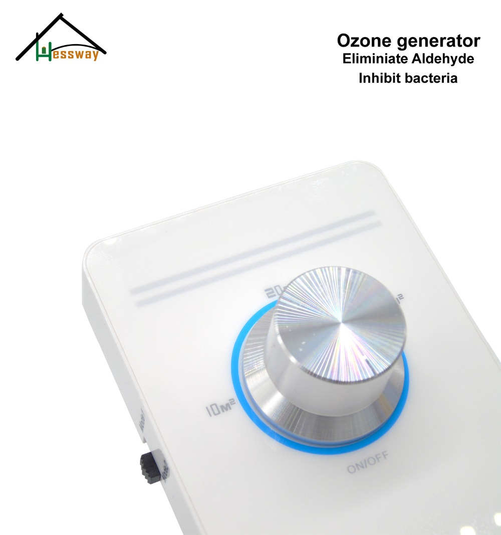 220V EU plug air ozone generator purifier  Deodorizer Cleaner Sterilization ceramic Ozone Generator machine