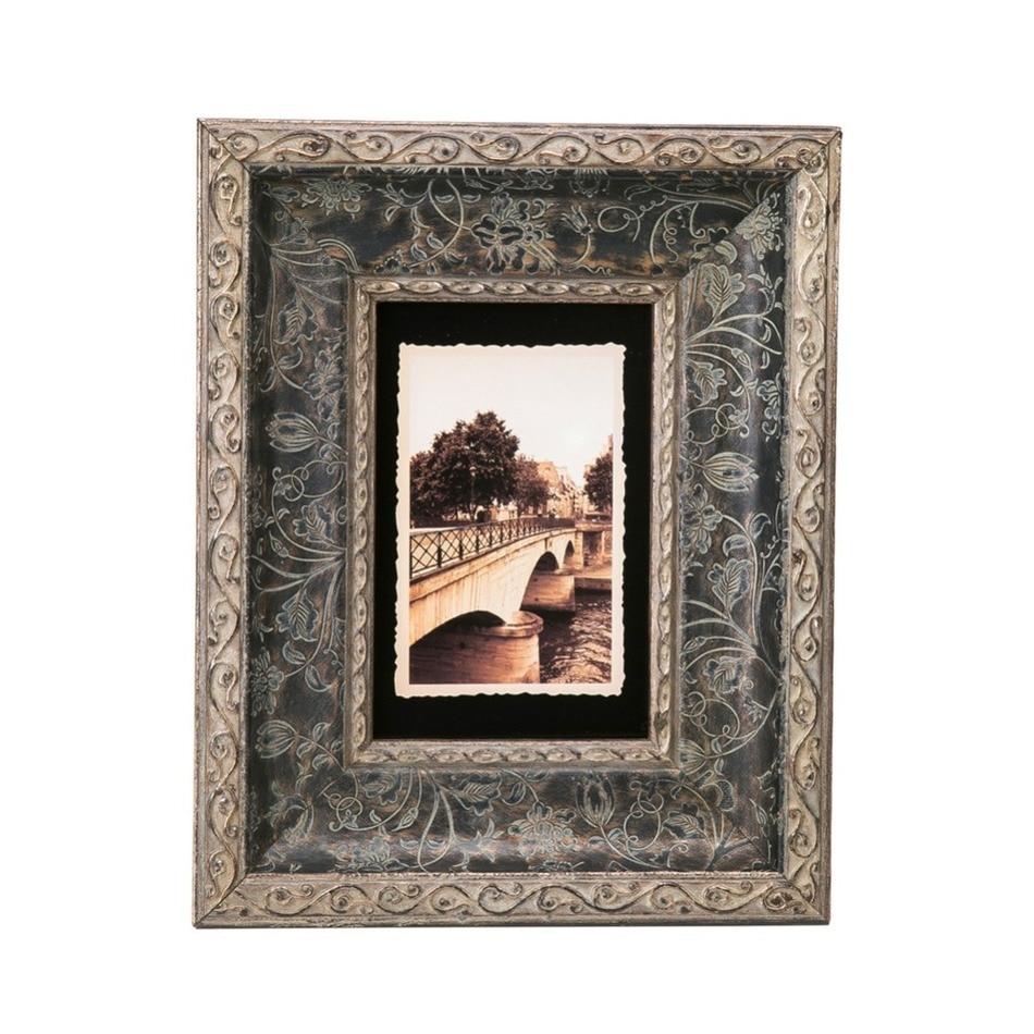 Modern Minimalist Creative Wood Window Frame Artifacts Wall Table ...