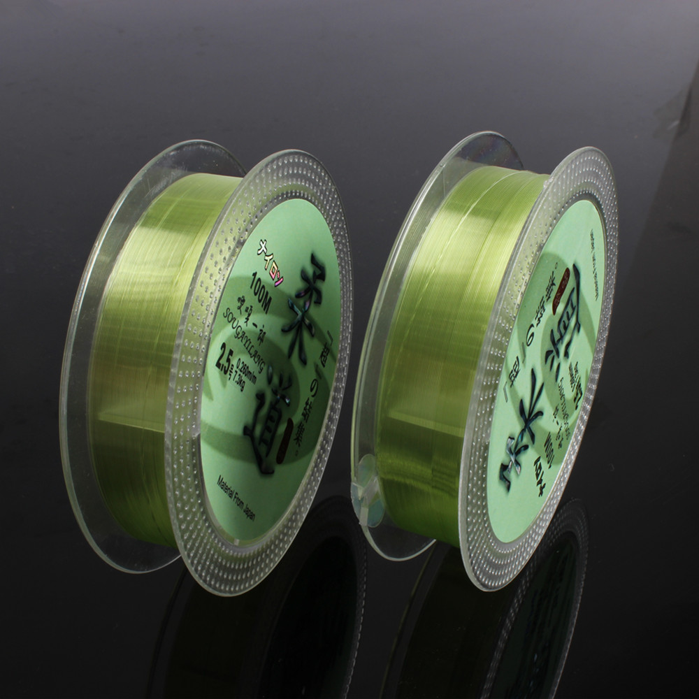 100m Fluorcarbon Fishing Line 0,6 # -7 # Leader Wire Fishing Cord Tilbehør Flurocarbone Winter Rope Fly Fishing Lines