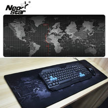 Large Mouse Pad Mouse World Map Pad Computer Notebook Mousepad Gaming Mouse Mats Practical Office Desk Resting Surface(China)