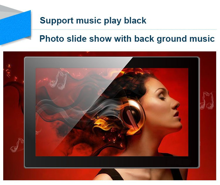 15 inch digital frame music function