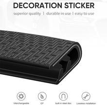 5 м Универсальный встроенный стальной диск автомобиля анти-столкновения полосы Авто край двери царапины протектор бампер прокладка уплотнительная защита отделка полосы