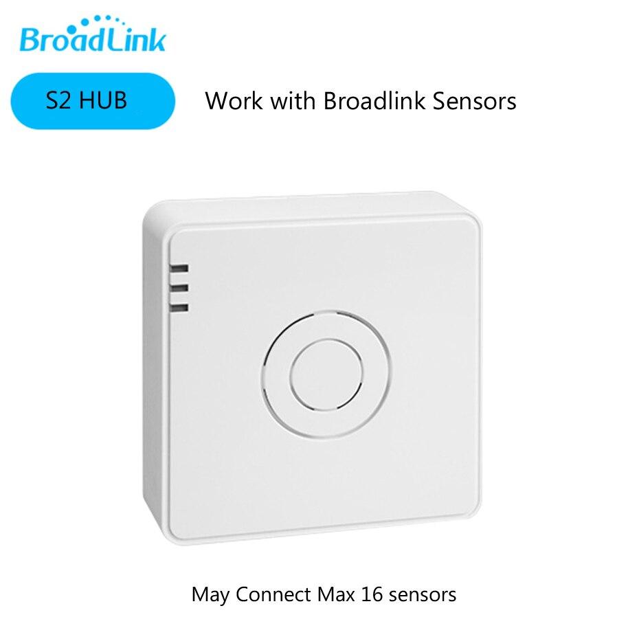 Broadlink S2 Host Smart Home Security Alarm Detect Hub WIFI Remote Control Anti-thef Device Compatible S1C Door Sensor PIRBroadlink S2 Host Smart Home Security Alarm Detect Hub WIFI Remote Control Anti-thef Device Compatible S1C Door Sensor PIR