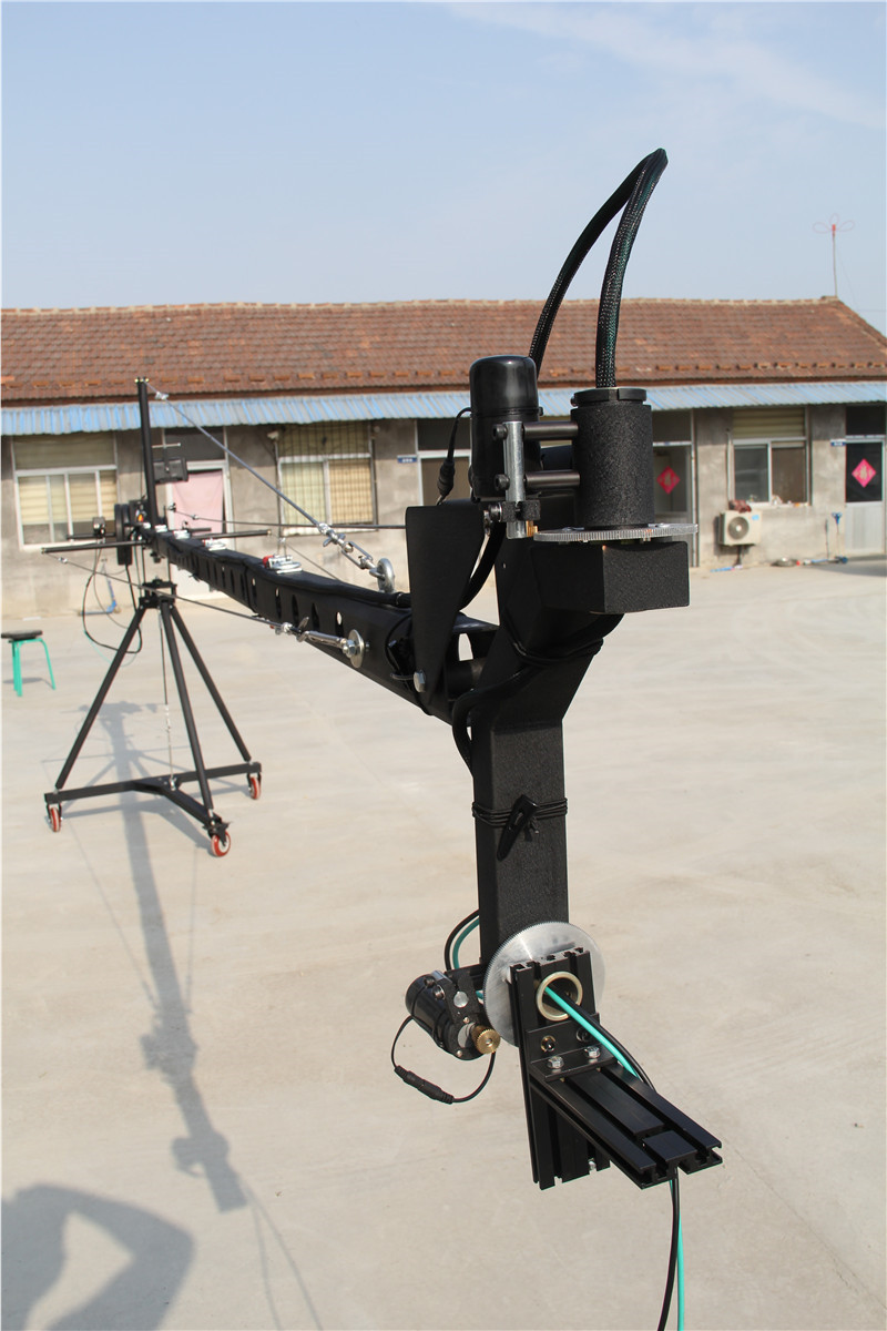Schwenkkran 8m 2-Achs ctagon Schwenkkopf tragbarer Kamerakran dslr - Kamera und Foto - Foto 4