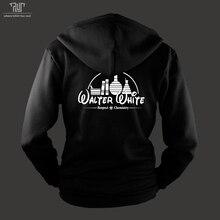 breaking bad walter white respect chemistry men unisex zip up hoodie organic cotton fleece heavy hooded sweatshirt Free shipping