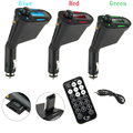 Newest Car MP3 Player Wireless FM Transmitter Modulator with USB SD MMC LCD With Remote Car MP3 Player Wireless FM Modulato