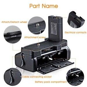 Image 5 - Travor סוללה מחזיק גריפ ניקון D5100 D5200 D5300 DSLR מצלמה עבודה עם EN EL14