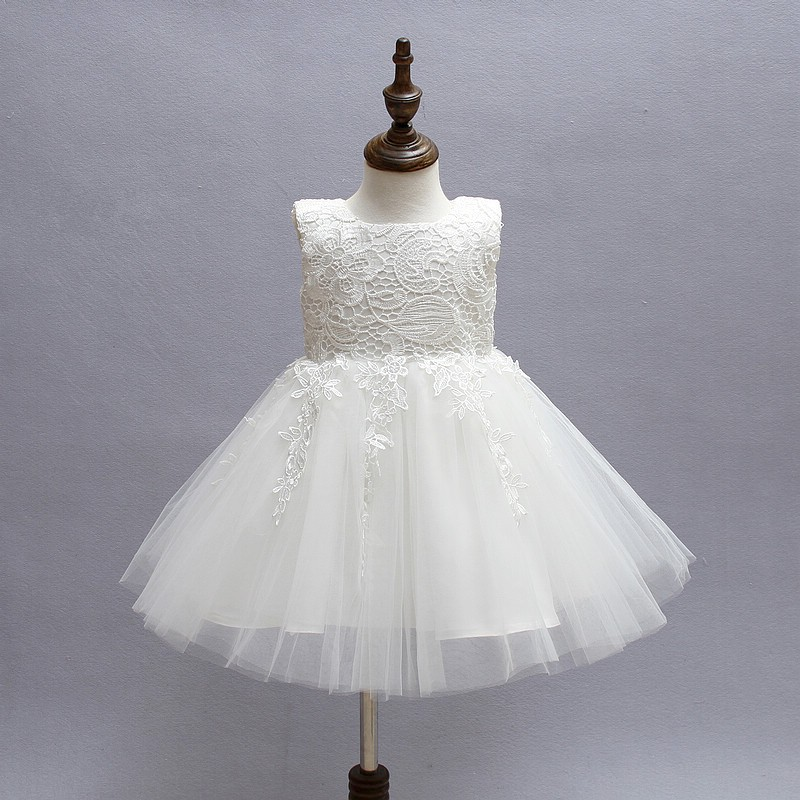 ФОТО SQ267 White First Communion dresses for girls mark Tulle lace Infant Toddler Pageant bridesmaid dresses for wedding and party