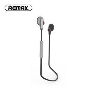 Image 2 - REMAX słuchawki douszne Bluetooth V4.2 słuchawki sportowe Bluetooth z mikrofonem Stereo na telefon z pałąkiem na kark