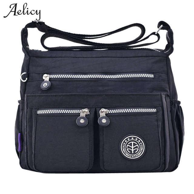 3b65733c52 Aelicy New Women Messenger Bags for Women Waterproof Nylon Handbag Female Shoulder  Bag Ladies Crossbody Bags