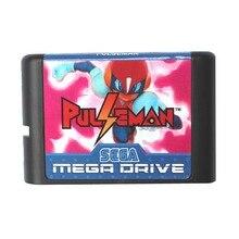 Pulseman (Pulse Man) 16 bit MD Game Card For Sega Mega Drive For Genesis